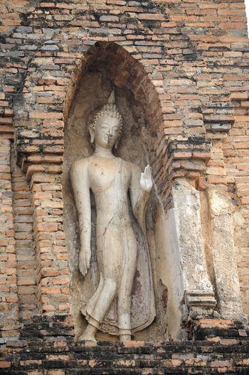 Buddha Image Sukhothai Historical Park Sukhothai, Thailand Buddhist Temple Historic Religion Spirituality Temple