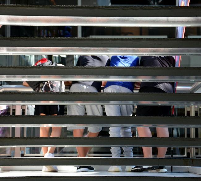 The Street Photographer - 2017 EyeEm Awards Shopping Mall Teens Looking For Mall Treppenhaus Staiways Steps And Staircases Berlin Photographer Einkaufszentrum Europacenter BoysBoysBoys Boys Business EyeEm Best Shots Berlin Fotografieren EyeEmBestPics