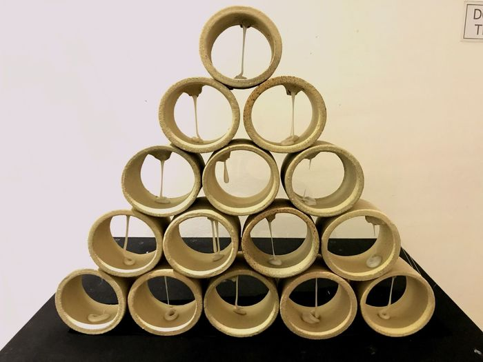 One Above The Other Cylinder Tower Cylinder Pyramid Pyramid Art Piles Of Papercylinder
