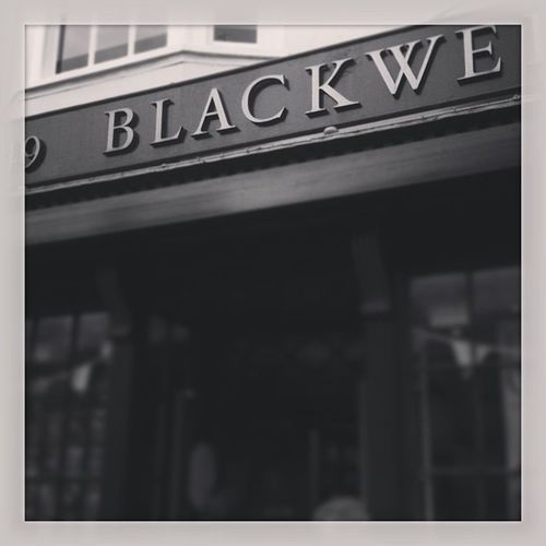 Blackwells book shop Oxford