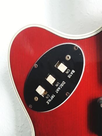 Acoustic Electric Guitar Guitar Details Guitar Design Vintage Vintage Electric Guitar Guitar Guitar Love Technology Red Music Retro Styled Old-fashioned Close-up Musical Instrument String Musical Instrument Guitarist Musical Equipment