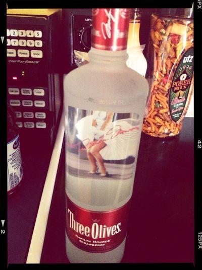 Vodka Drink Three Olives Strawberry