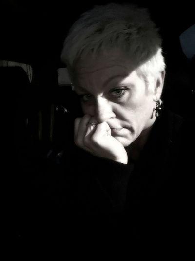 M3 Portrait Black Background Suspicion Human Face Headshot Human Eye Men Mid Adult Shadow Dark