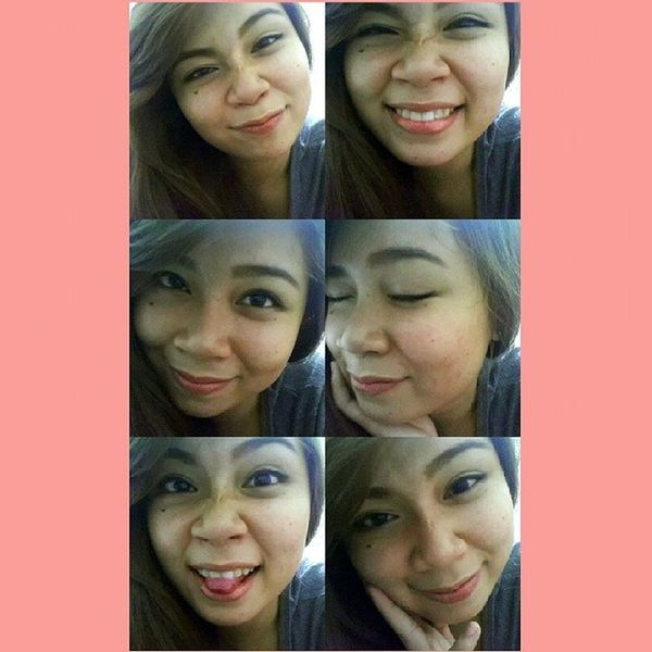 Any girl can be glamorous. Just hold still, be yourself, and look stupid. ♥ Selfie Nofilter Yaaa