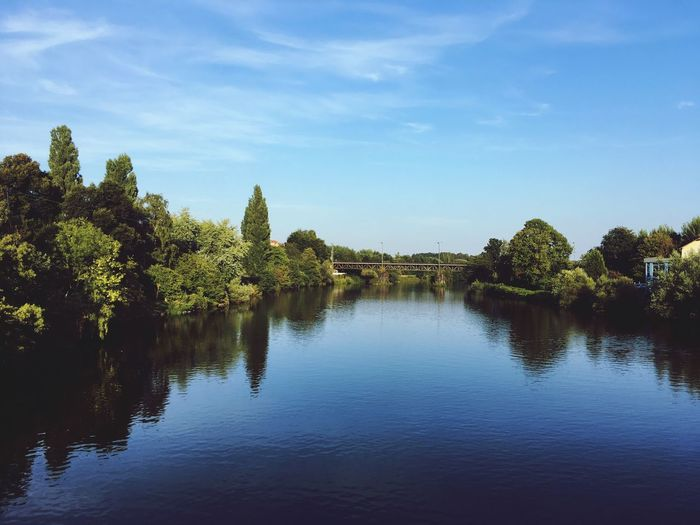 Ruhrgebiet Nature Photography Water Clear Sky River Blue Sky Beauty In Nature Natur Pur
