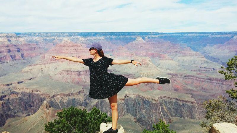 Dancer Grandcanyon Balance Thats Me