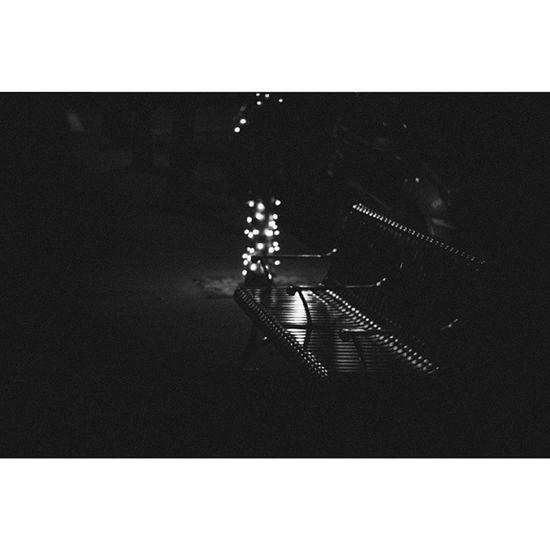There is a point to all of this, and its always been you - #baao #beingasanocean #black #white #lights #film #epphotography #canon #fuji #bench #thoughts #appreciation #wanderer #respect #lost