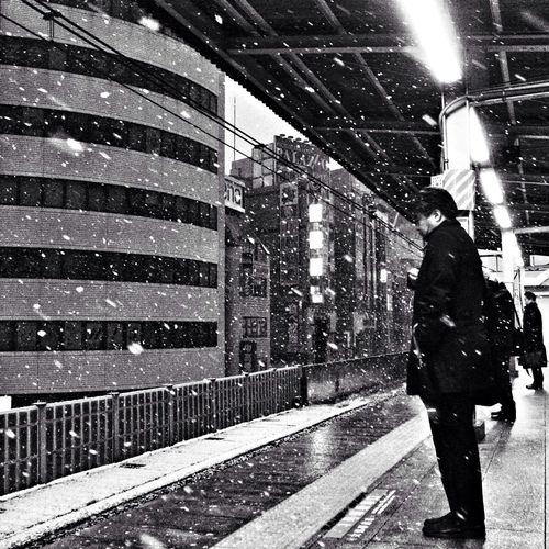 People The Street Photographer - 2014 EyeEm Awards Snapshot Snow Deepfreeze