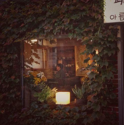 the poet Architecture Cafe Oldtown Insadong