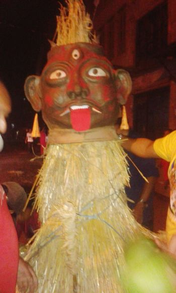 Newari Culture ghantakarna Old Culture