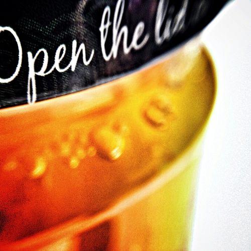 Open. Jam Jar