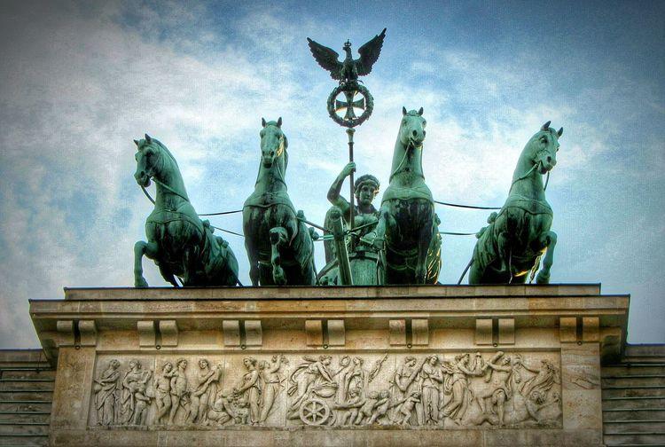 Brandenburg Gate Brandenburg Berlin Berlin Mitte Symbol History Warrior Sculpture Bronze