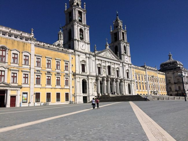 Mafra convent. Architecture Baroque Architecture Blue Building Exterior Church Day IPhoneography National Palace Of Mafra Sky Tourism