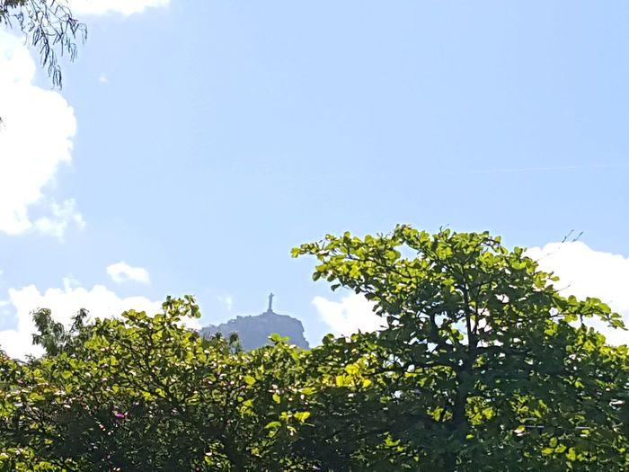 Nofilter Noedit Rio De Janeiro Eyeem Fotos Collection⛵ Corcovado Brazil ❤ Samsungphotography S7edgephotography GalaxyS7Edge Nature Photography Blue Sky
