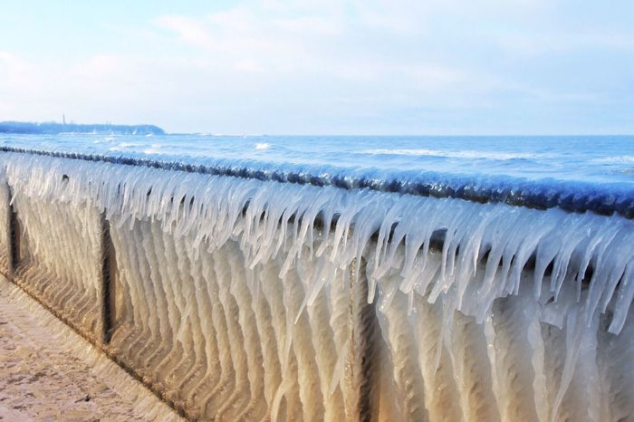 Sea Water Nature Scenics Sky Beauty In Nature Horizon Over Water No People Tranquility Outdoors Day Tranquil Scene Beach Wave Baltic Sea Winter