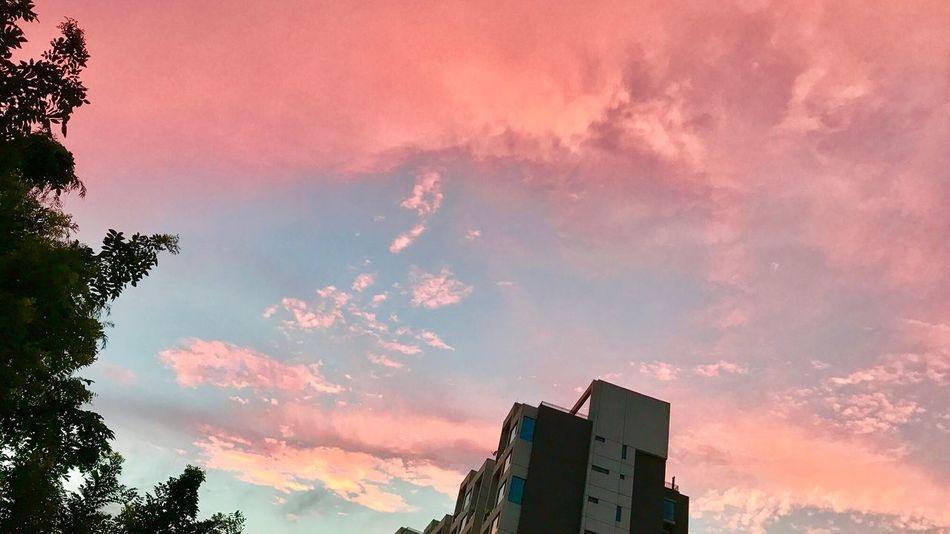 Beijing Sky Sunset Cloud - Sky