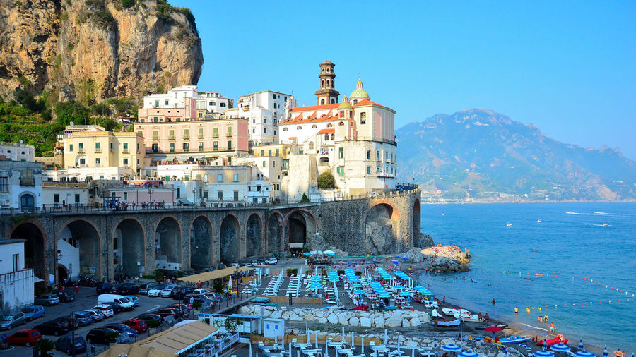 Amalfi coast tour - atrani.