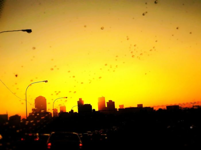 Morning 🌻 Town CBD Traffic City Life City Bird Cityscape Flying Sunset Urban Skyline Silhouette City Life Sky Architecture Office Building Skyscraper High Rise Skyline Infrastructure City Location Tall Tower Building Story Droplet Drop RainDrop Water Drop Romantic Sky Downtown Settlement
