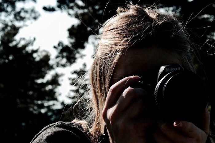 Women One Person Lifestyles Nikon