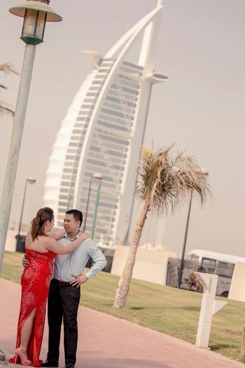 Couple Prenupshoot Dubai Prenupt Shoot Prenuptial Burjalarab Dubai Couple Wedding Photography Wedding Landmark Landscape