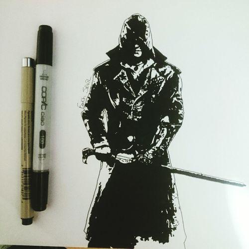 New art Art Artist Draw Drawing Mydesign Assassinscreed Game Ubisoft
