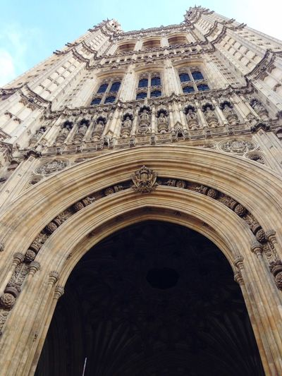 Houses of Parliament London Urban Icon