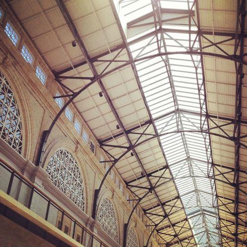San Francisco Ferrybuilding Ceiling Cream Architecture
