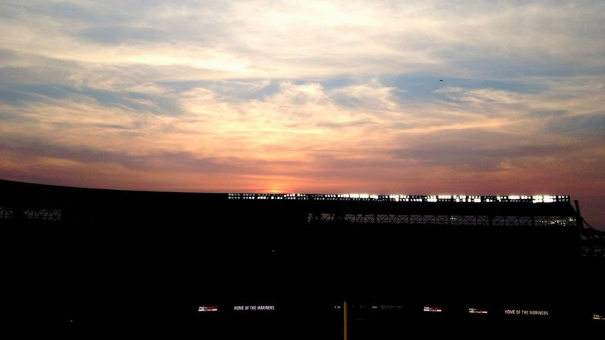 Safecofield Seattle Silhouette Contrast Sunset