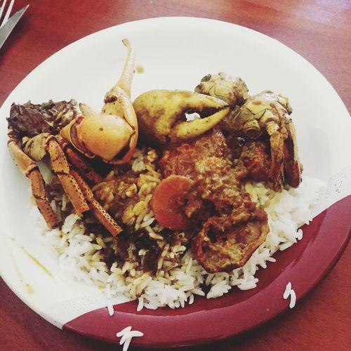 Carribean Crabes Martinique Foutsabel Lundi De Pâques Koupédwèt