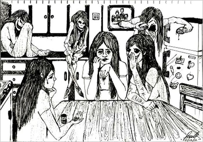 Inside Depressed Paranoie Voci Tristezza Sclero Paura Sfogo Racconto Sguardo  #silenzio #urla #caos #solitudine #stomaco #cuore #mente #corpo