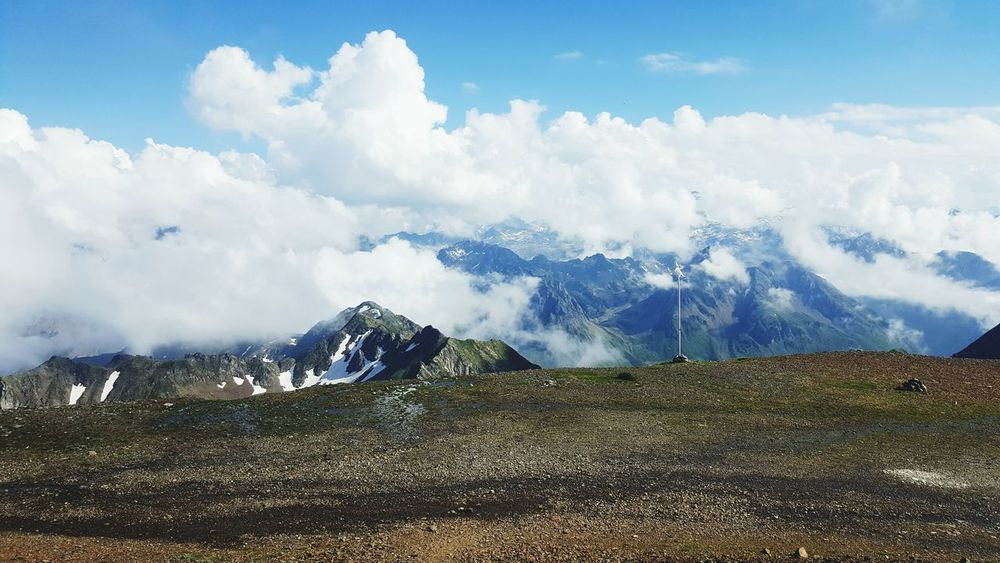 Mountains Pyrenees Summer Summit France Snow ❄ Paradise Clouds Clouds And Sky Wildlife Wildlife Photography Running Skyrunning Have A Nice Day!