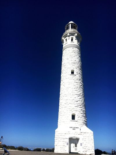 Cape Leeuwin Lighthouse Architecture Low Angle View Travel Destinations Western Australia Perth Australia