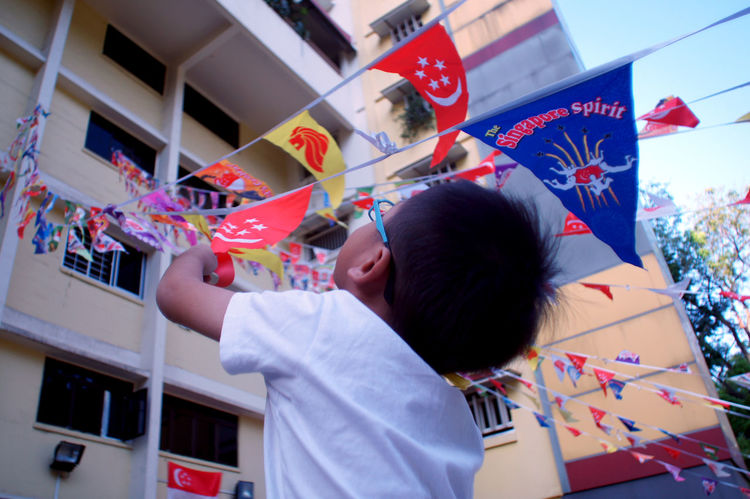 Celebration Singapore National Day 2017 Singapore National Day Singapore Birthday Celebration Childhood Day Multi Colored Ndp2015 Real People Singapore People