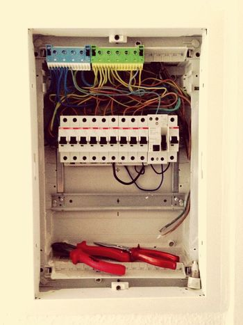 Working Work Is Done Electrical Power Ready