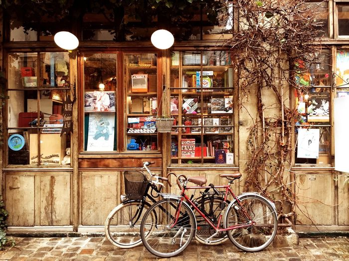 Paris Paris, France  Bicycle City No People Outdoors Day