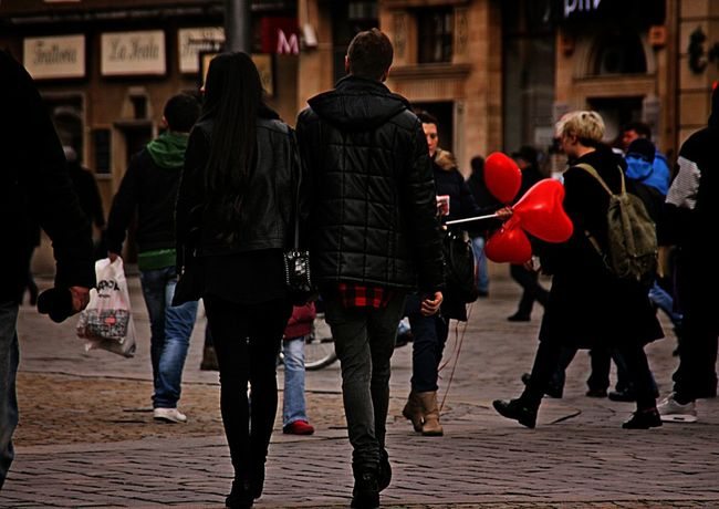 Wroclaw Poland St.Valantain's Day Streetphotography
