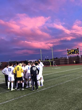 Colorado 5A Quarterfinals: Grandview High School vs. Fairview High School. Grandview High School prepares for the challenge ahead. Soccer Colorado Legacystadium Sunset Playoffs Be. Ready.