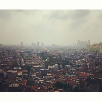 View of jakarta central from the junior suite