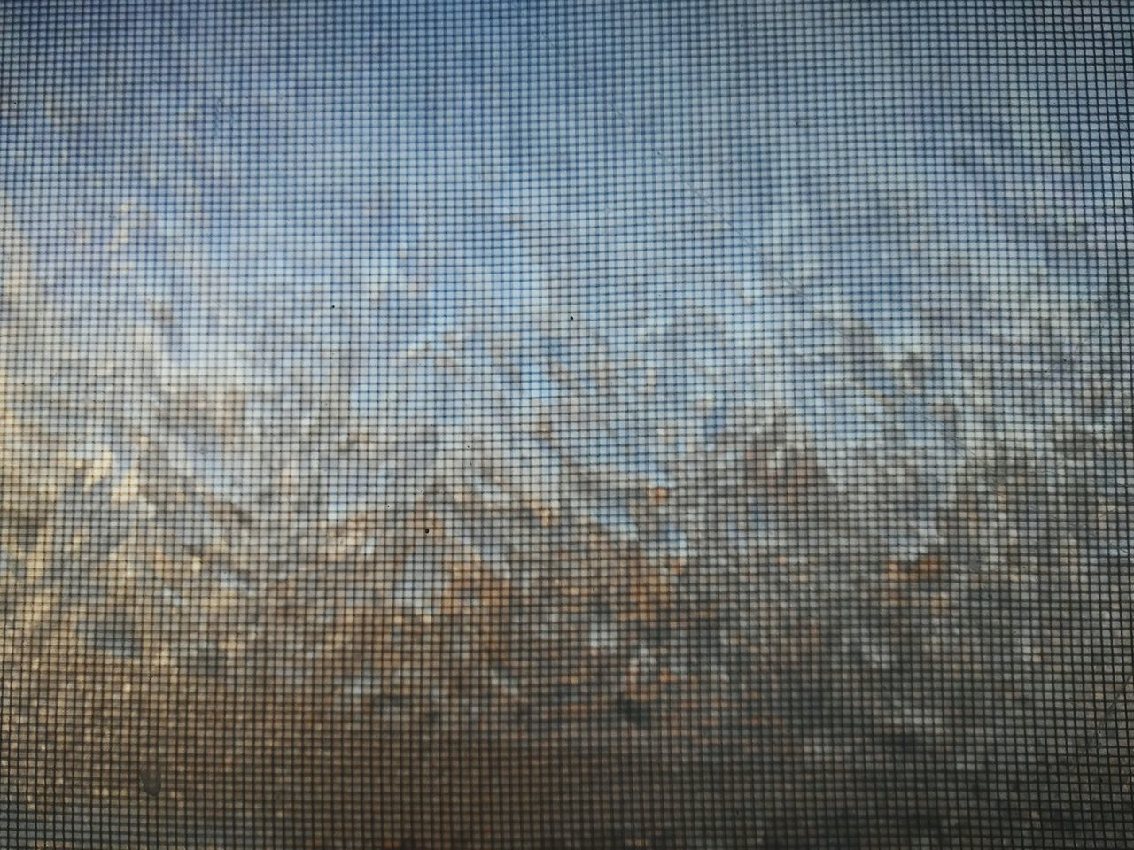 pattern, backgrounds, full frame, reflection, textured, no people, blue, day, close-up, indoors, sky, pixelated