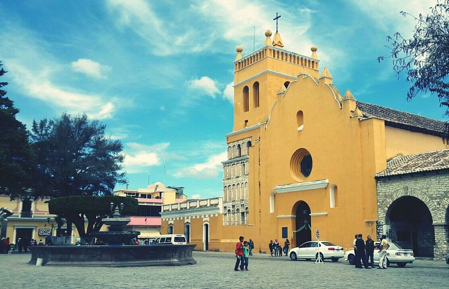 This ia the main church in comitan. Church Comitan, Chiapas Fountain