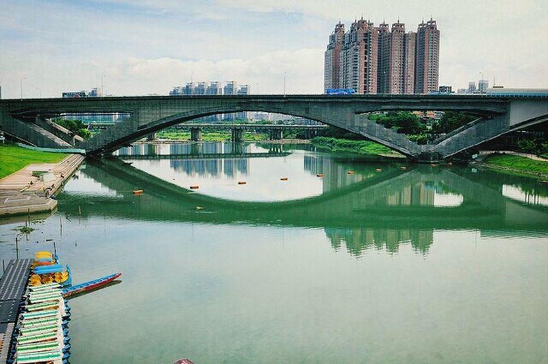 Bridge River Reflection Landscape Photography