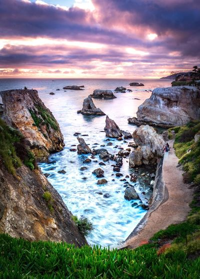 First time trying ND filters Photooftheday Long Exposure SONY A7ii Landscape Sea Beach Sunset Wave Landscape Seascape
