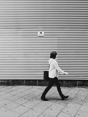 """every step you take, I'll be watching you."" Streetphotography Blackandwhite Surveillance Lyrics"