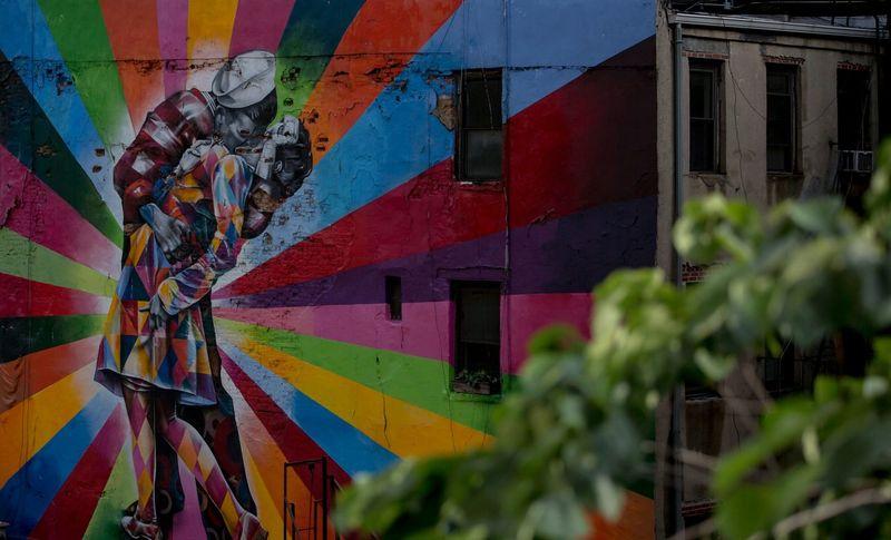 Art Streetphotography Streetart High Line Park Urban Buildingart Wall Art ArtWork