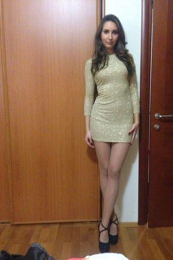That's Me Hi! Dress, Gold ♥