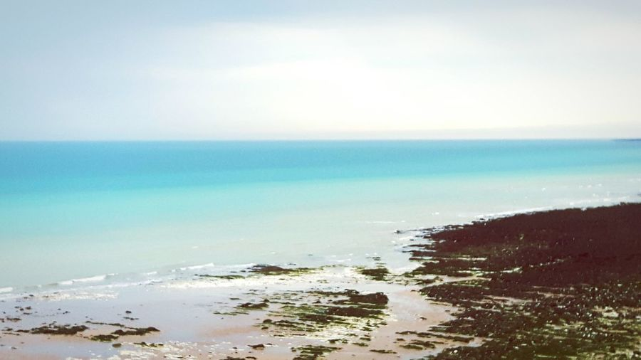 Eastbourne Cliffs Six Heads Seascape Ocean Beach