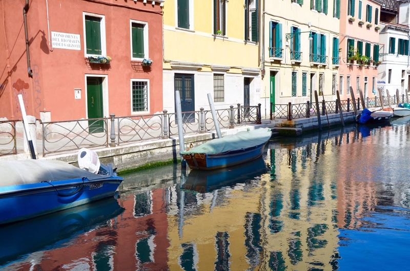 My Year My View colourful canals of Venice 2016travels