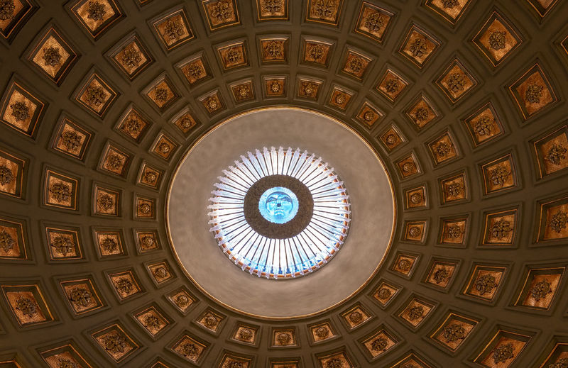 Dome architecture, Buenos Aires Architecture And Art Architecture Geometric Shape Circle Built Structure Indoors  Shape Dome Ceiling Pattern No People Directly Below Low Angle View Travel Destinations Architectural Feature Building Design Cupola Buenos Aires Buenos Aires, Argentina