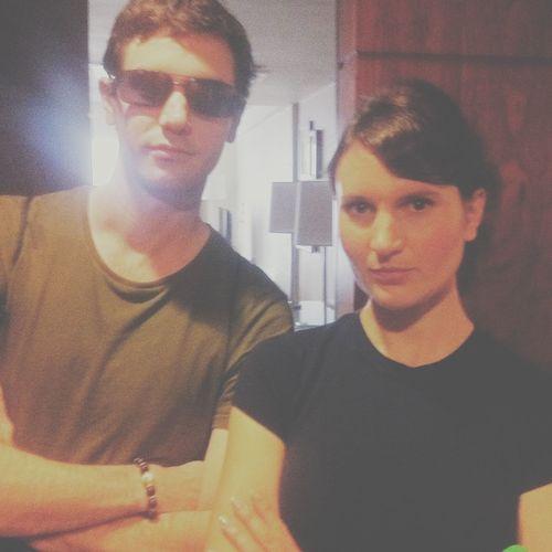 Bad cop, bad cop. Smandi & I.
