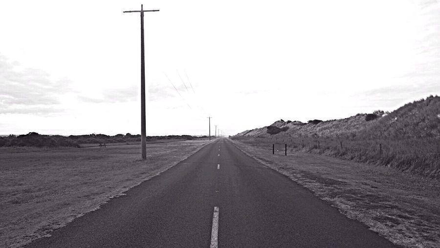On the Road !!! Vanishing Point for the Bnw_friday_eyeemchallenge Perspective Australia